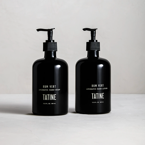 Tatine Rum Vert Hand Soap and Lotion
