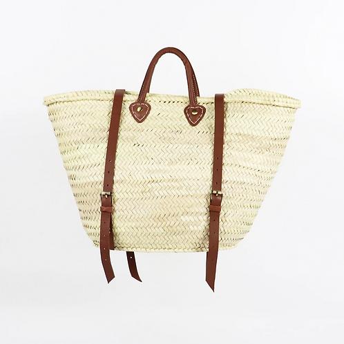 French Basket Backpack