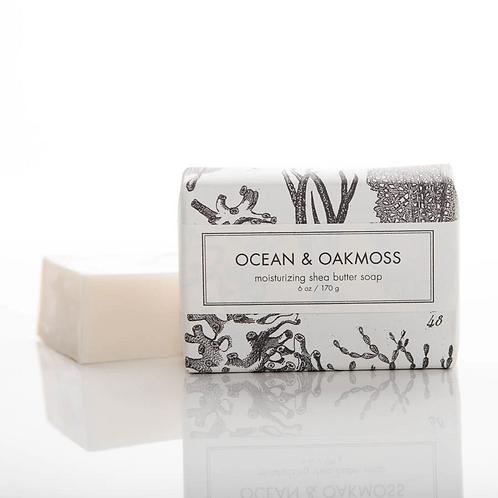 Formulary 55 Shea Butter Soap - Ocean & Oakmoss Bath Bar