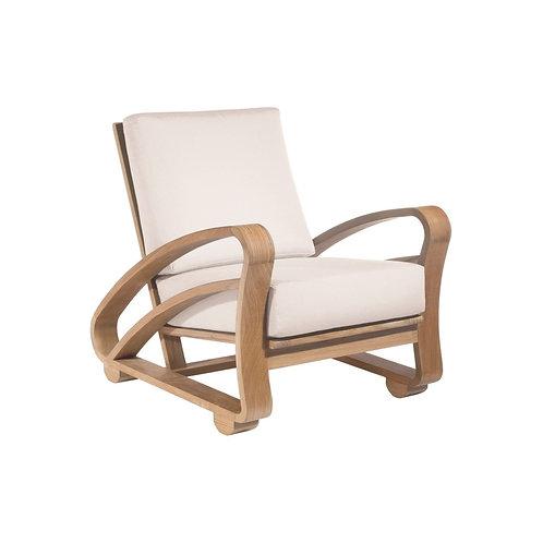 Cuban Lounge Chair Outdoor - Teak