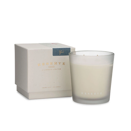 Reserve Light Fjord, 2-Wick Candle