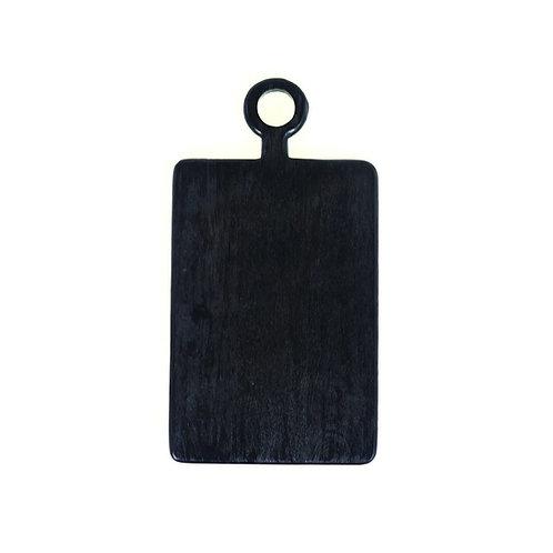 Black Mango Wood Mini Board Rectangular