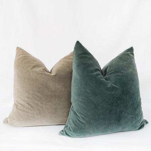 Washed Velvet Pillow