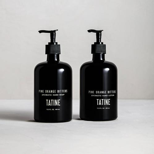 Tatine Pine Orange Bitters Hand Soap and Lotion
