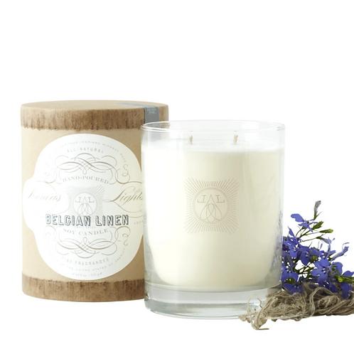 Belgian Linen, 2-Wick Candle
