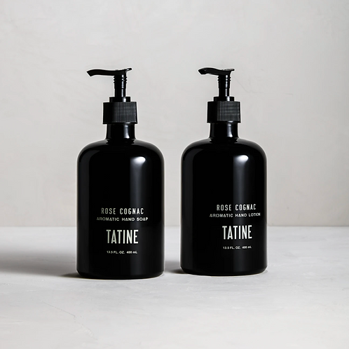 Tatine Rose Cognac Hand Soap and Lotion