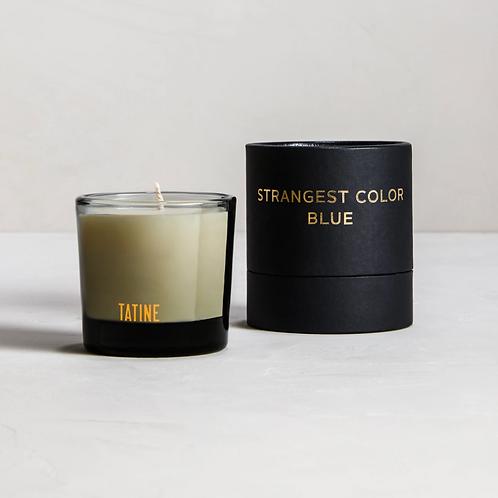 Tatine Strangest Color Blue Votive Candle