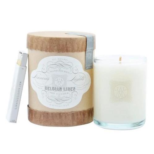 Belgian Linen - Votive Candle