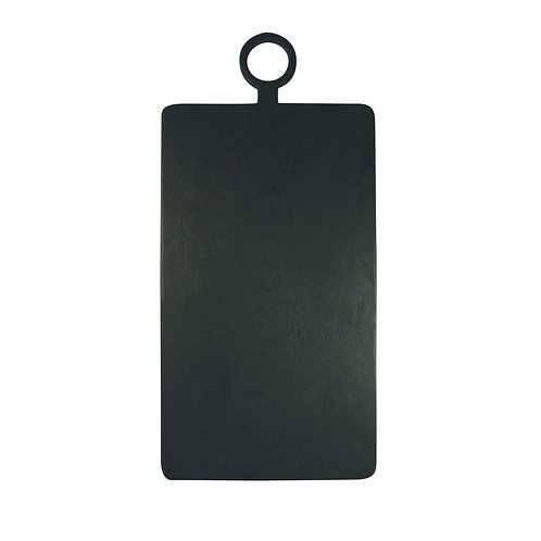 Black Mango Wood Rectangular Board Extra Large