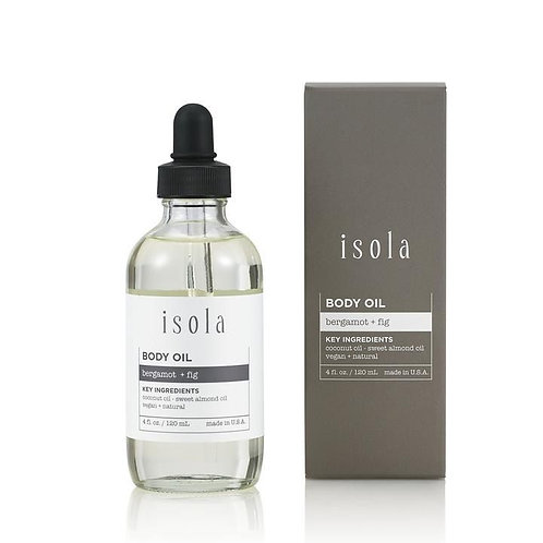 Bergamot + Fig Body Oil