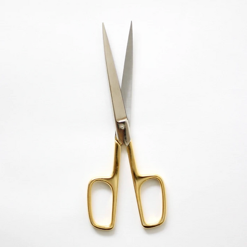 Office Scissors Gold Handle