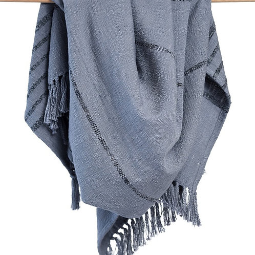 Duka Throw Blanket - Gray