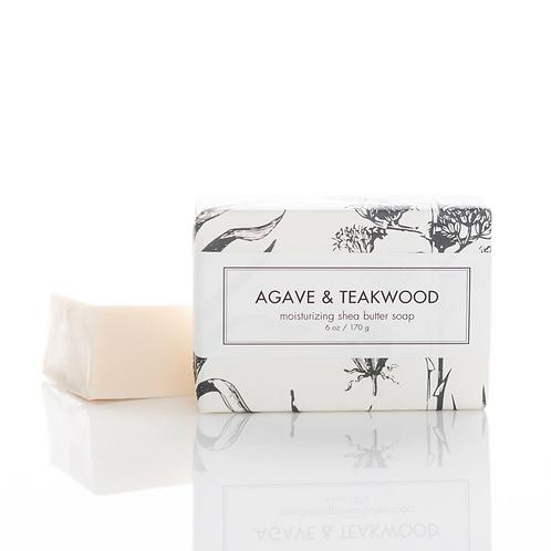 Formulary 55 Shea Butter Soap - Agave & Teakwood Bath Bar
