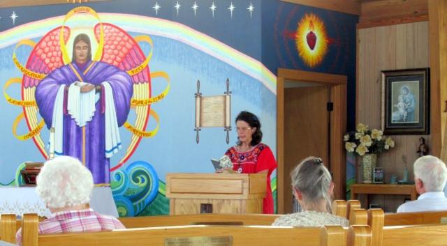 Austinite Elizabeth Leading Prayers … September 29, 2019