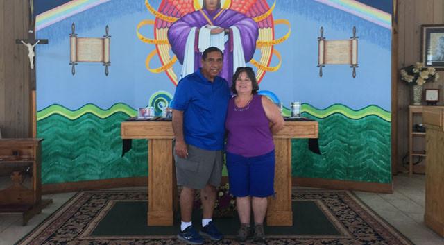 Jay and Roberta Mendoza from San Antonio, TX … July 13, 2018