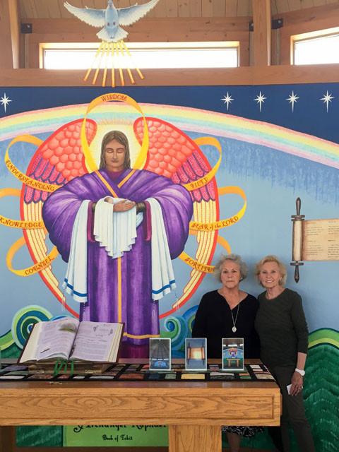 Carol, visiting from San Antonio, and her sister, Linda, visiting from California … July 29, 2018