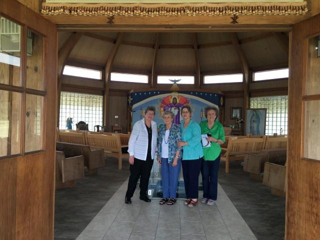 Year of Mercy Pilgrims from Victoria, Tx (Rosemary Kahamek, Wendy Hrncir, Elizabeth Migura, and Lou Gumm) … February 24, 2016