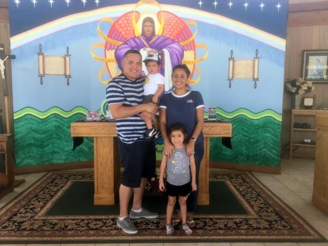 The Rodriquez family, from San Antonio, TX … July 17, 201