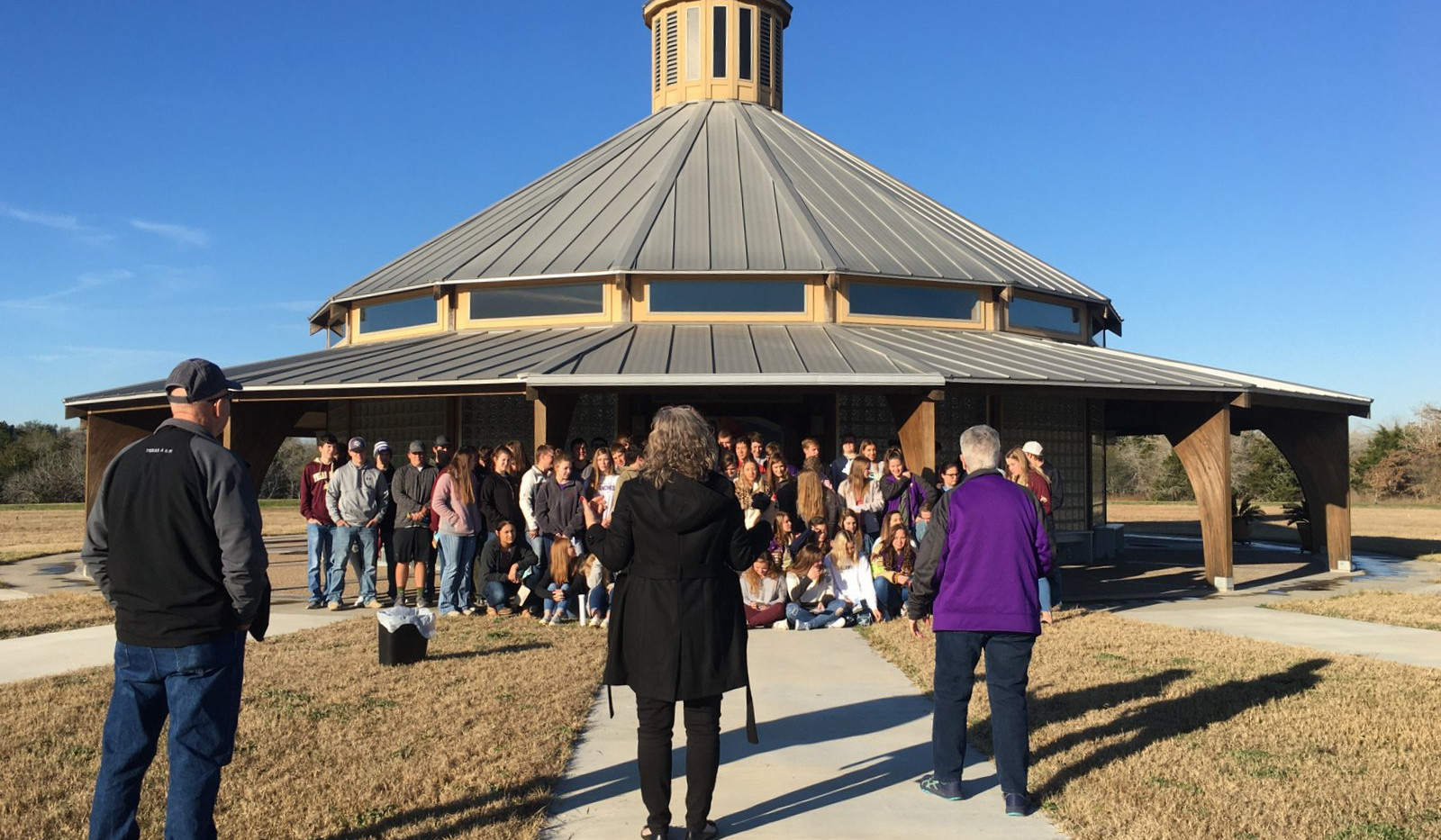 National Honor Society tours Raphael's Refuge