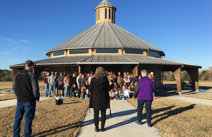 National Honor Society tours Raphael's Refuge, Jan. 2020.