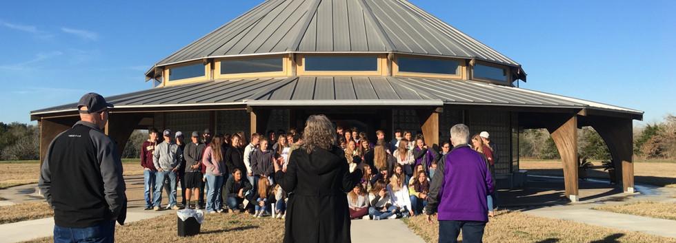 National Honor Society tours Raphael's Refuge
