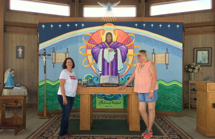 Visitors Donna and Elaine from Victoria, TX … September 29, 2019