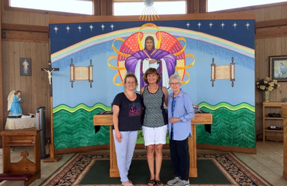 Visitors from Schulenburg, Spring Branch, and La Grange, Texas … May 20, 2019
