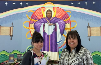 Two Flatonia ladies blessed us with a visit. Thanks Teresa and Claudia! … November 25, 2019