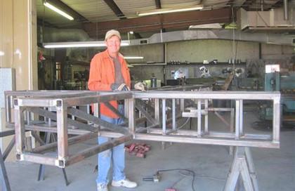 Construction of the Entrance Cross - Dennis Venghaus … September 20, 2012