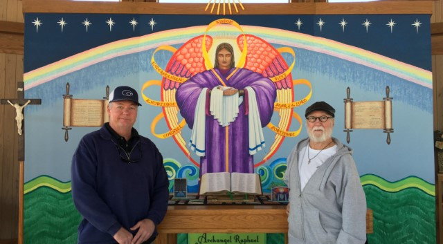 Visitors Mike and Allen from Austin, Texas … December 7, 2019