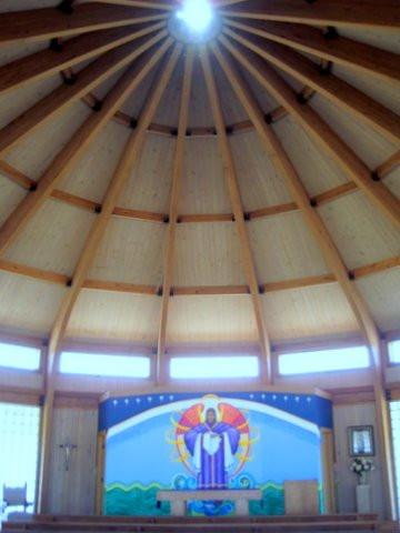 Sun Shining through a Cupola Window … April 29, 2011
