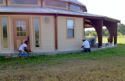 Concrete Repair Work, done as a donation from Michael and Barabara Branecky … August 9, 2014