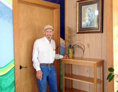 Oak Table Built and Donated by Buddy Borel … December, 2015