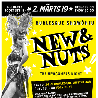 New&Nuts - Burlesque Debut & Newcomers' Show 2019