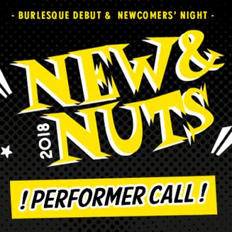 New&Nuts esinejate registreerimina avatud!