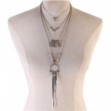 Metal Long Bohemian Necklace