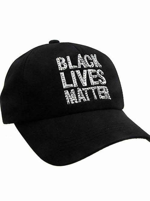 Black Lives Matter Bling Cap