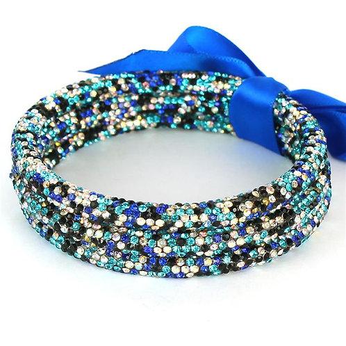 Layered Crystal Bangles