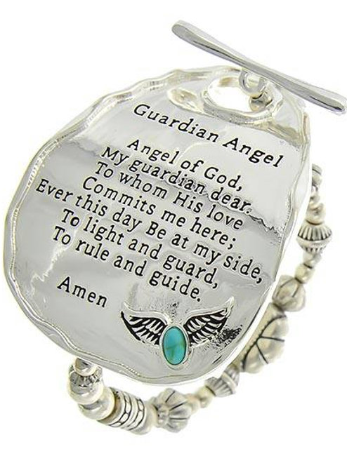 Guardian Angel Stretch Bracelet