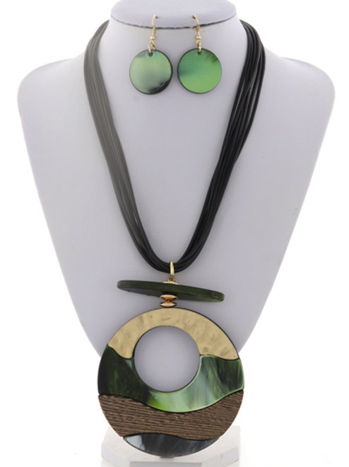 Marble Me Maybe Necklace Set