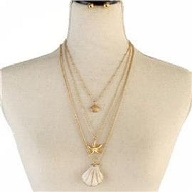 Sea of Life Necklace Set