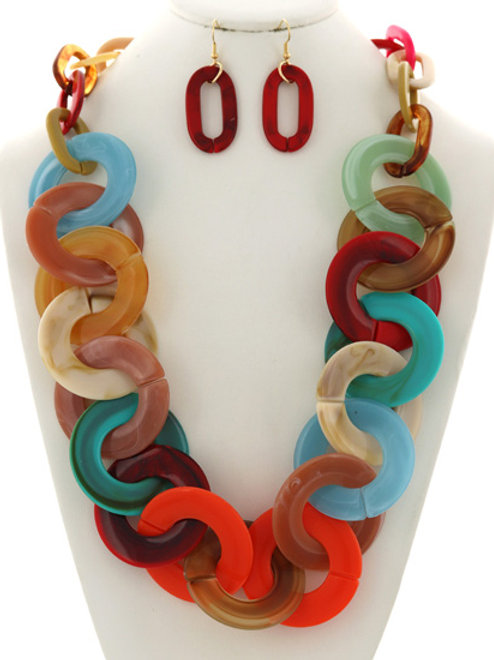 Sunset Strip Necklace Set