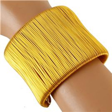 Metal Wired Cuff Bracelet