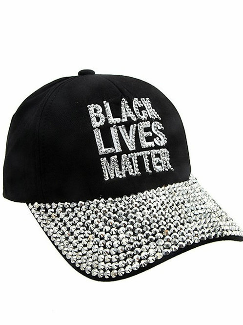 Black Lives Matter Studded Cap