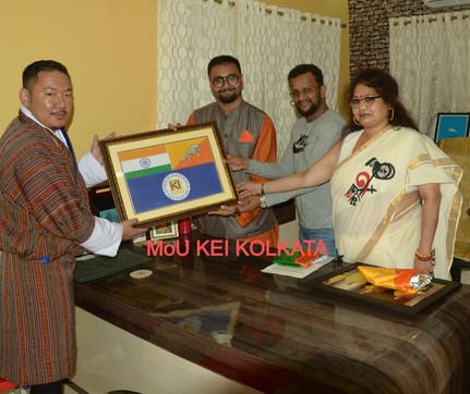 MoU Kingston Education Institute, Kolkat