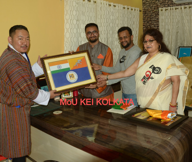 MoU Kingston Education Institute, Kolkat