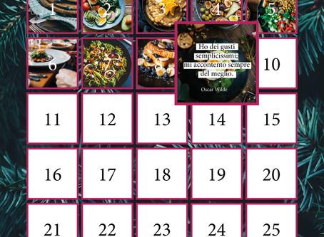 Il nuovo calendario dell'avvento è online!
