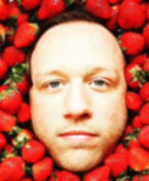 #tbt to my face in pile of strawberries.