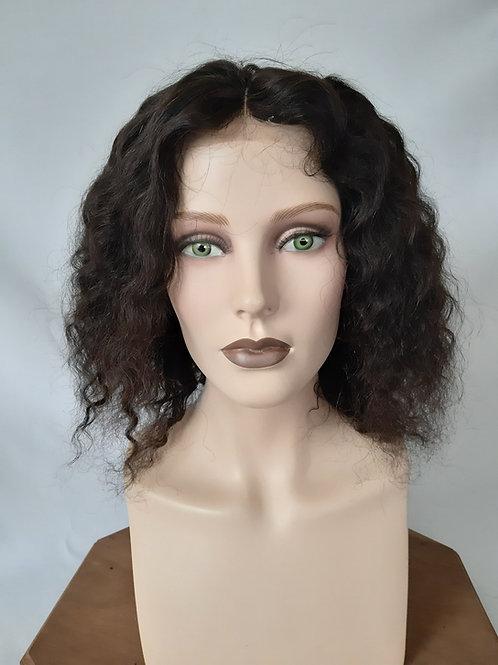 "Peluca de cabello natural "" Corinne"" Mono+Lace Front"