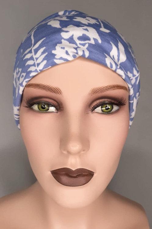 lindo turbante y vincha a la vez , estampado